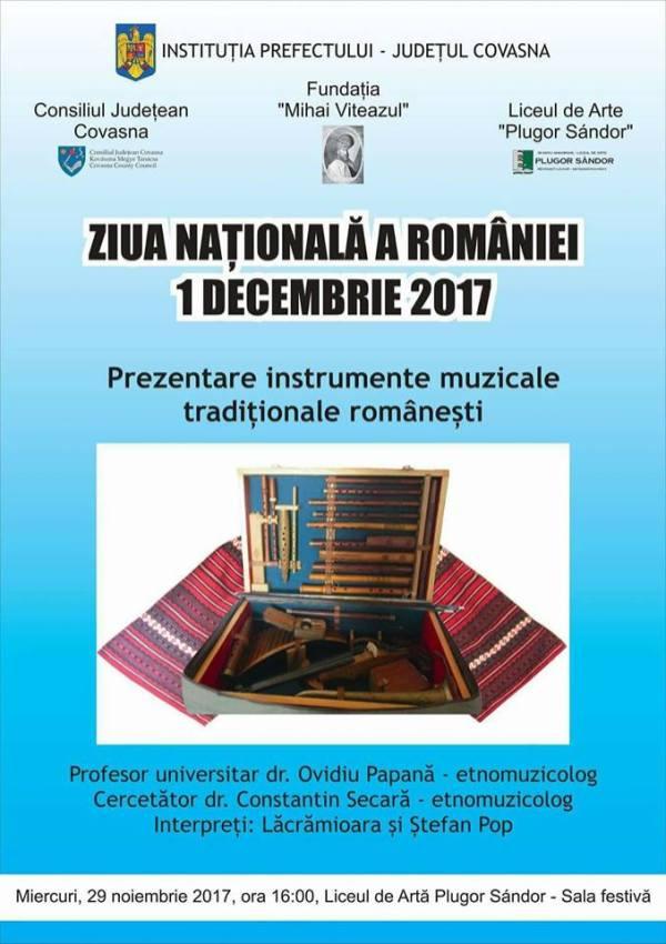 instrumente muzicale romanesti