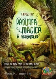 Afis_expozitia arborilor_Padurea Magica a Dinozaurilor - Dino Parc Rasnov 2018