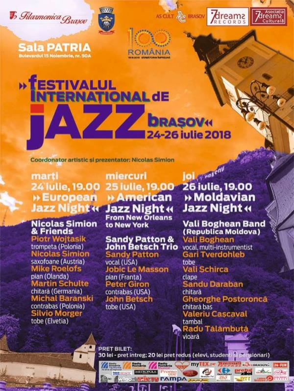 Afis Festivalul International de Jazz
