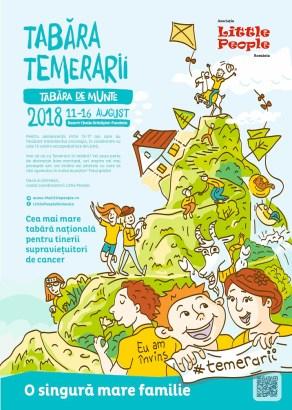 Afis Tabara Temerarii_Little People