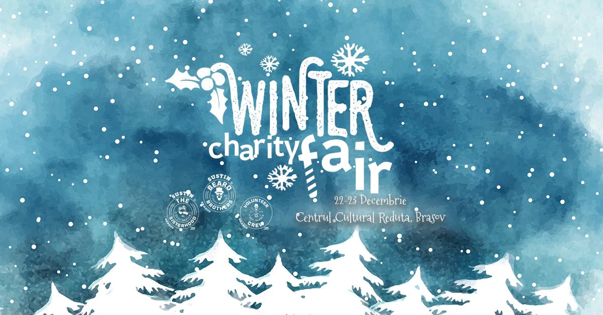 Asociația Beard Brothers Brașov organizează Winter Charity Fair