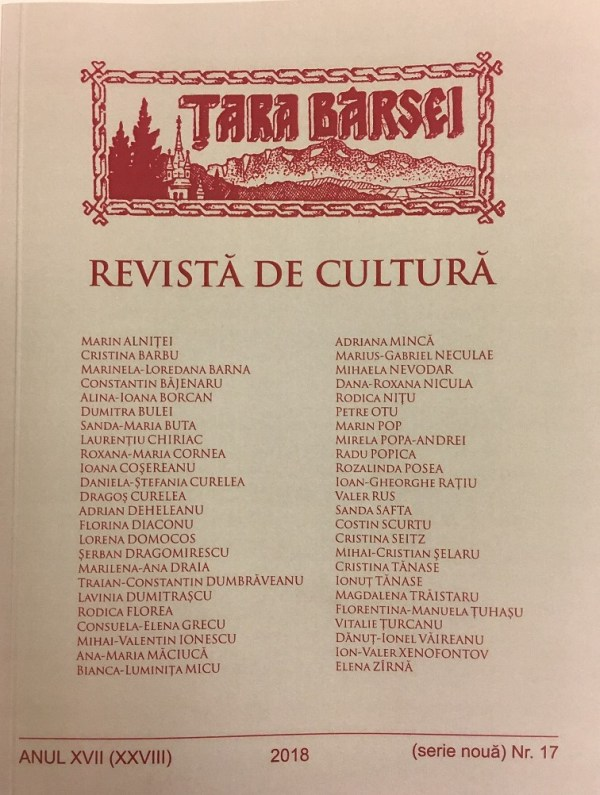 revista Tara Barsei 2018
