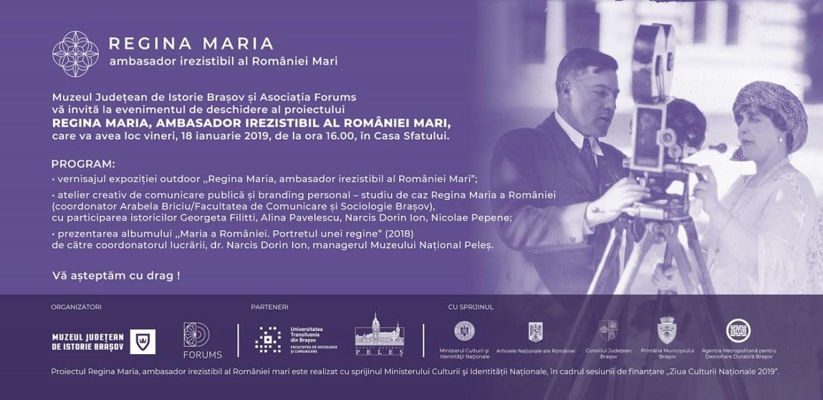 ",,Regina Maria, ambasador irezistibil al României Mari"""