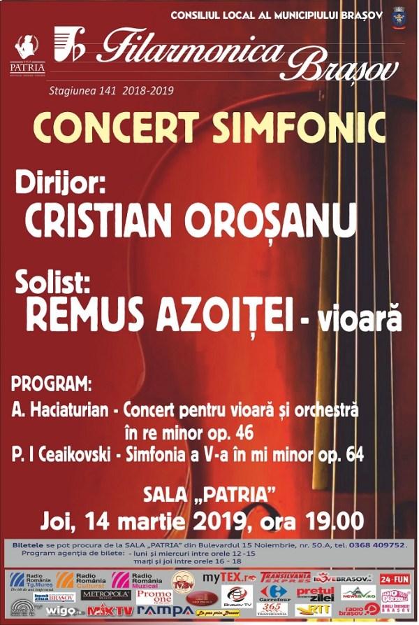 Filarmonica - Concert 14 martie 2019