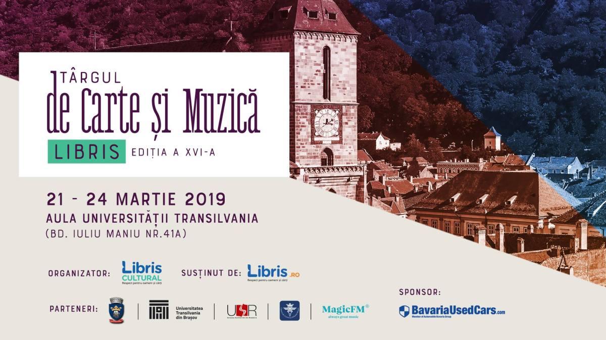 Târgul de CArte și Muzică Libris, 21 - 24 martie 2019