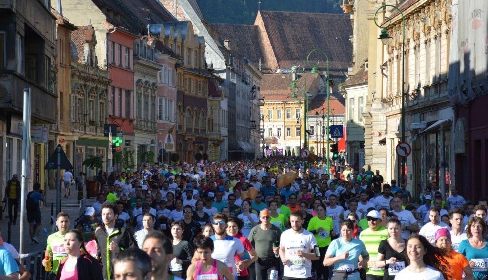 Restricţii de circulaţie cu prilejul Maratonului Internaţional Braşov