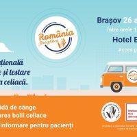 Prima caravana de informare si testare gratuita pentru boala celiaca din Romania ajunge la Brasov