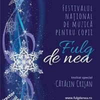"""Festivalul Național de Muzică pentru Copii """"Fulg de nea"""" 2019"""