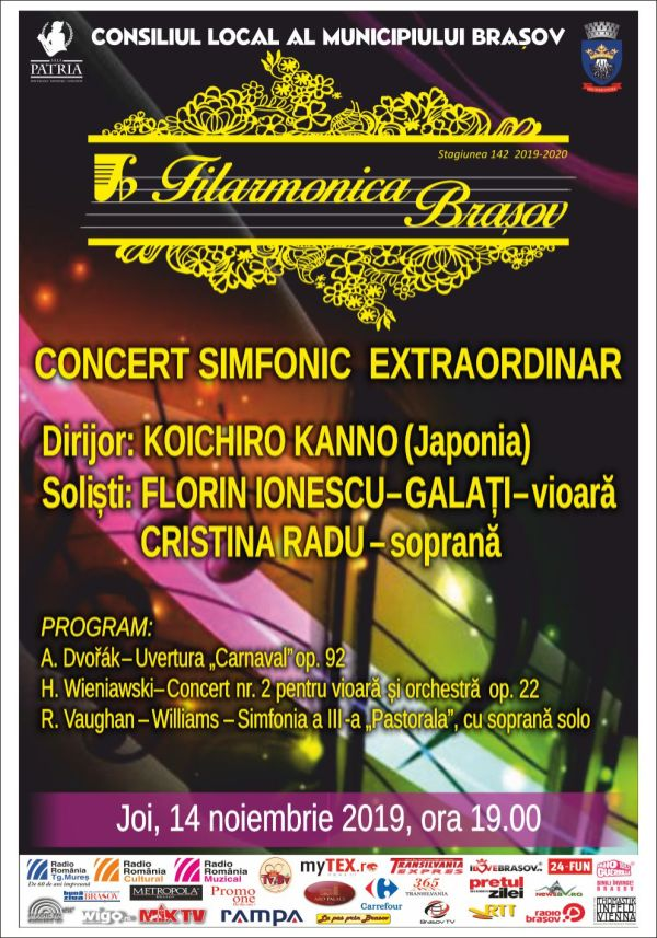 Filarmonica - Concert 14 noiembrie 2019