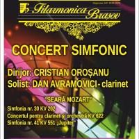 """""""Seara Mozart"""" la Filarmonica Brașov!"""
