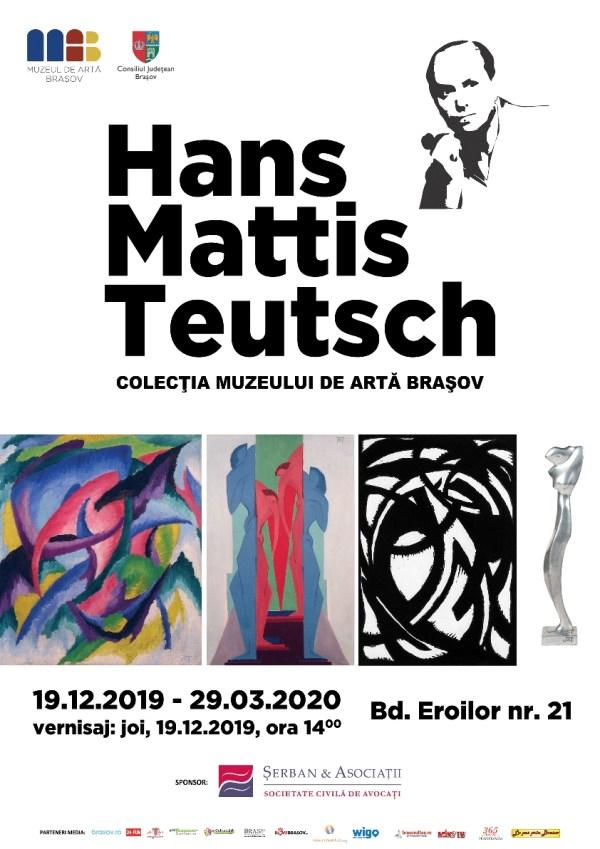 Afis expozitia Mattis Teutsch