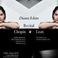 Diana Ichim, recital de pian