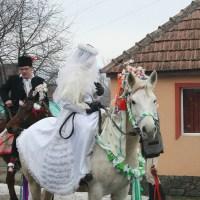 Obiceiul tradiţional Fărşang, în localitatea Ormeniş