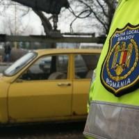 Poliţia Locală continuă și în 2020 ridicarea maşinilor abandonate în municipiul Brașov!