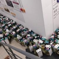 300 de pachete cu produse de igienă și alimentare de strictă necesitate vor ajunge astăzi la persoanele vârstnice vulnerabile