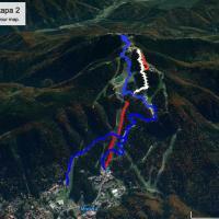 Într-o lună de zile, mountain-bikerii vor putea coborî din Postăvarul în Brașov