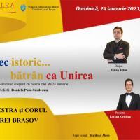 """Opera Brașov: """"Un cântec istoric... bătrân ca Unirea"""""""