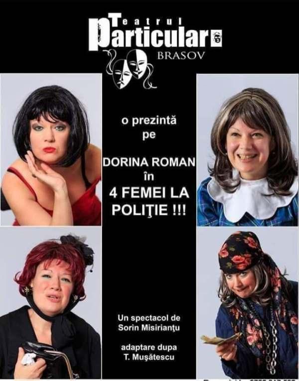 4 femei la politie