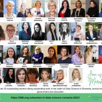 Premieră în România: Women in Data Science (WiDS) - Femeile în domeniul Noilor Tehnologii