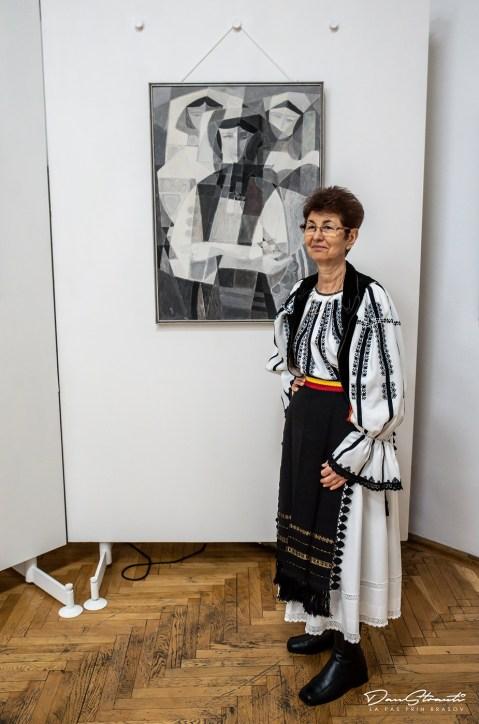 """""""Portrete cubiste"""", Eftimie Modâlcă (1936 - 1991)"""