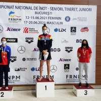 CS LUNA obține 3 medalii de aur, 4 de argint și 2 de bronz la Campionatele Naţionale Feminine  de înot