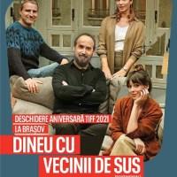 Trei filme din cadrul Festivalului Internațional de Film Transilvania (TIFF) de la Cluj-Napoca se vor vedea simultan și în Brașov