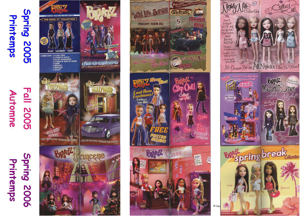 With Out Cloth Girl Wallpaper Bratz Catalogue Printemps Et Automne 2005 Printemps 2006