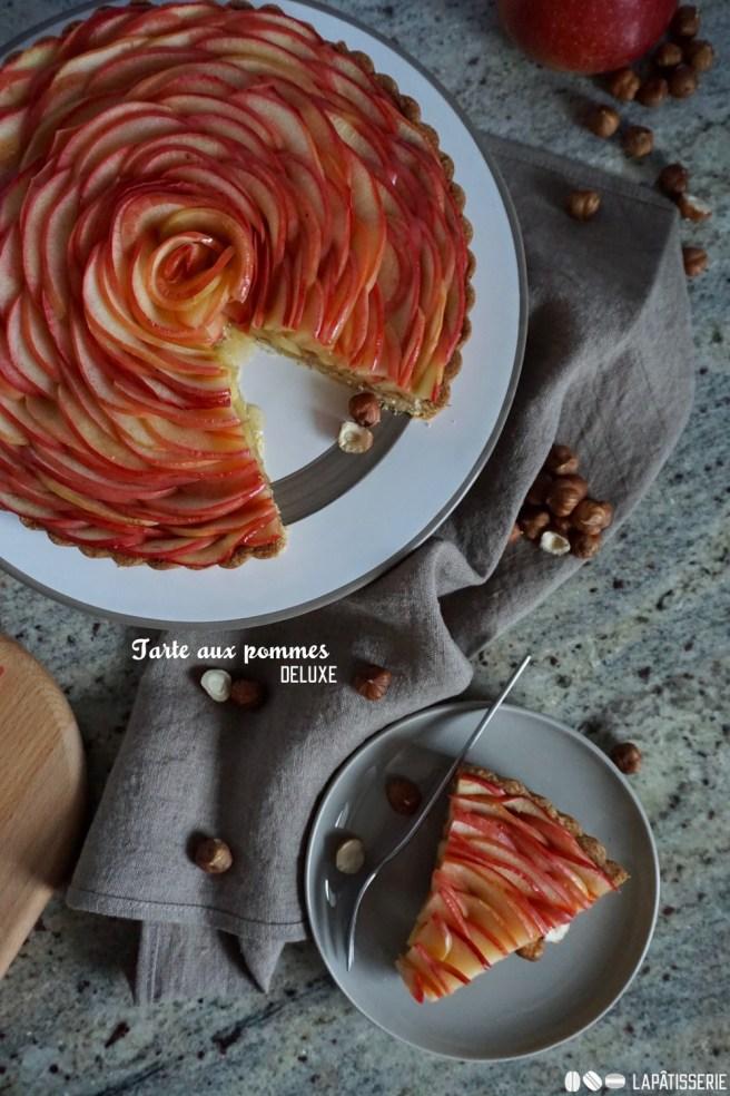 """Mein erstes Rezept neu aufbereitet: Französische Tarte aux pommes. In einer """"deluxe""""-Ausführung."""