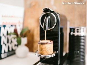 Der Dharkan von Nespresso passt perfekt dazu.