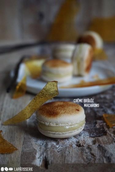Zur Feier des #WorldMacaronDay gibt es ausgefallene Crème Brûlée Macarons.
