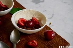 So deutsch, so klassisch: Schwarzwälder Kirsch neu aufbereitet als Dessert.