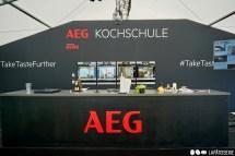 Die Kochschule von AEG auf dem Taste of München