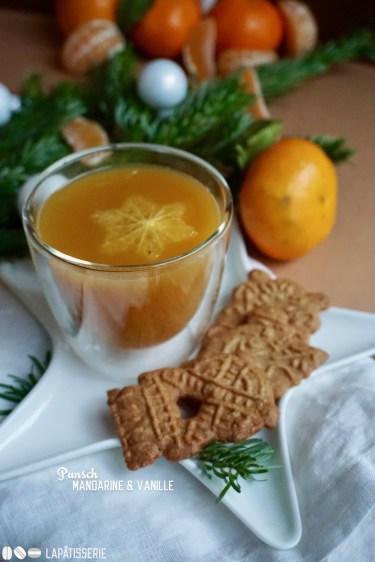 So ein wärmender Punsch mit Mandarine und Vanille ist schon was Feines in der Weihnachtszeit.