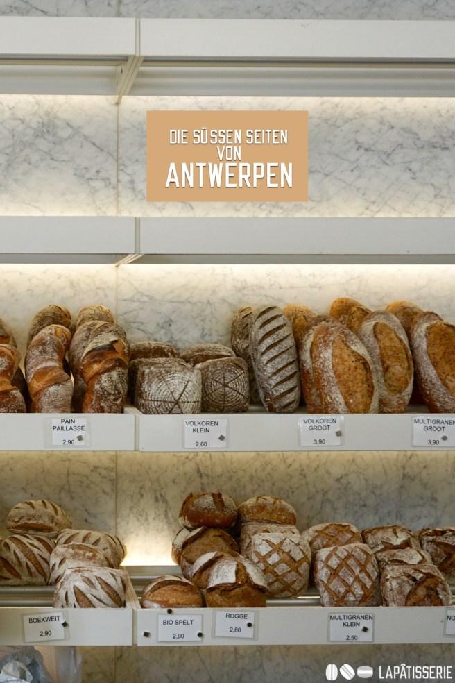 Entdecken wir zusammen die süßen Seiten von Antwerpen mit Pâtisserien, Chocolaterien und Bäckereien.