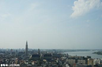 Der Ausblick über Antwerpen vom MAS Museum aus. Und das ist auch noch gratis.