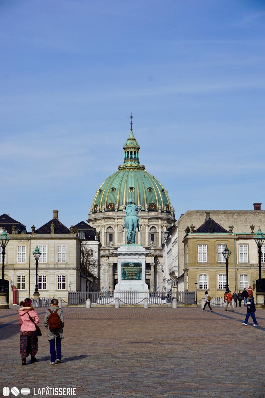 Eines der vielen königlichen Schlösser in Kopenhagen.