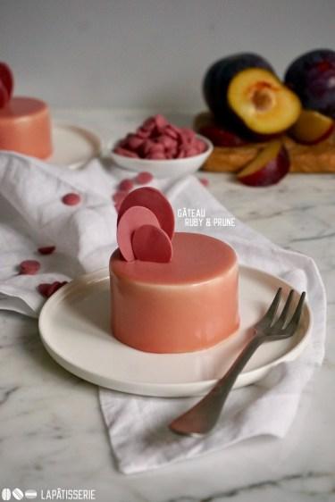 Gâteau Ruby & Prune