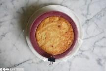 Schritt 6: Torte einsetzen.