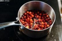 Schritt 3: Cranberrykonfitüre kochen