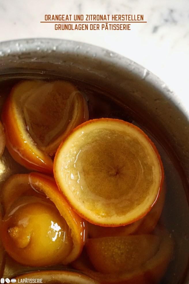 Kandieren oder Orangeat und Zitronat selbst herstellen. Geht einfacher als man denkt und schmeckt viel besser.