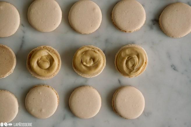 Schritt 12: Macarons füllen