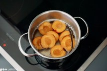 Schritt 5: Aprikosen pochieren