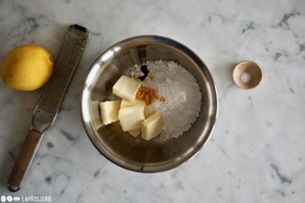 Schritt 1: Butter verkneten