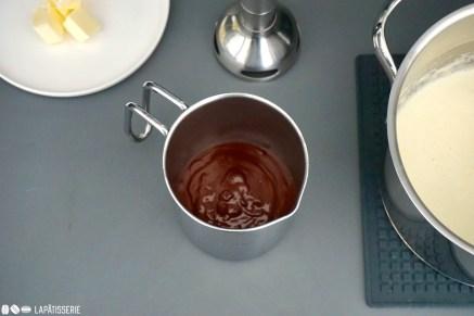 Schritt 1: Ganache kochen