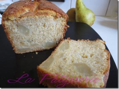 cake moelleux à la poire 1