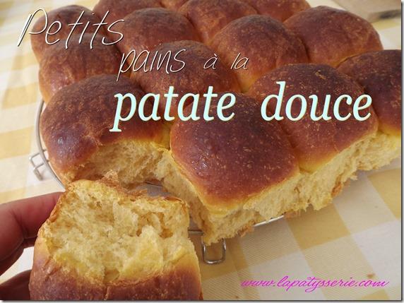 petits pains à la patate douce