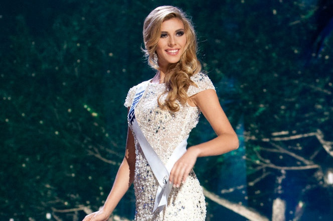 Miss France Camille Cerf