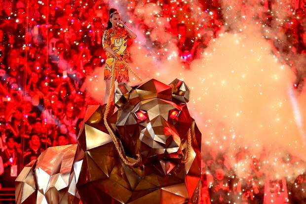 katy perry roar super bowl 2015
