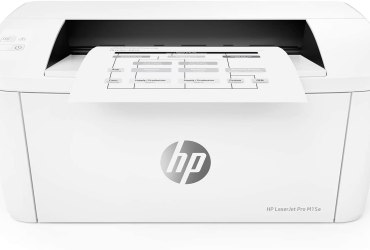 HP Laserjet Pro M15a World's Smallest Black-and-White Monochrome Laser Printer W2G50A (Includes Toner and USB Cable)