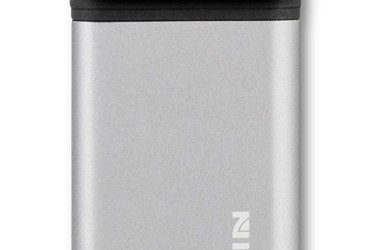 Black Fin Dual Charge Power Bank